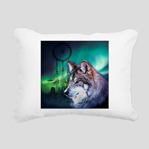 dream catcher northern l Rectangular Canvas Pillow