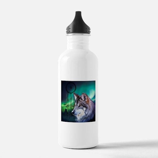 dream catcher northern Sports Water Bottle