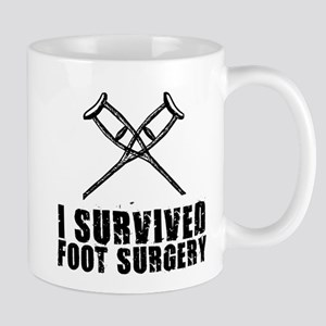 I survived foot surgery Mugs