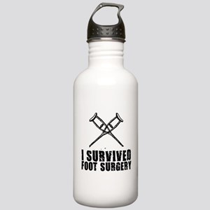 I survived foot surger Stainless Water Bottle 1.0L