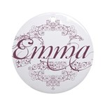 Emma Round Ornament