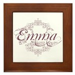 Emma Framed Tile