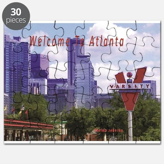 Cute Atlanta ga Puzzle
