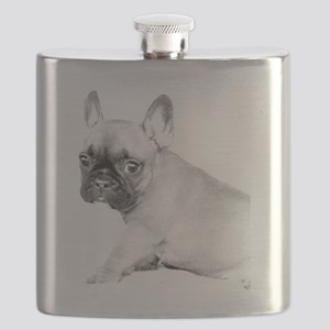 French Bulldog puppy Flask