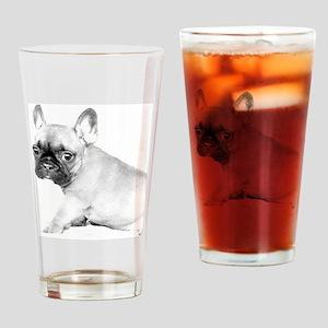 French Bulldog puppy Drinking Glass