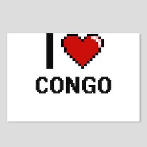 I Love Congo Digital Desi Postcards (Package of 8)