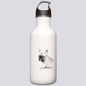 French Bulldog puppy Stainless Water Bottle 1.0L