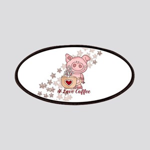 Piglet Loves Coffee Patch