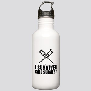 I Survived Knee Surger Stainless Water Bottle 1.0L