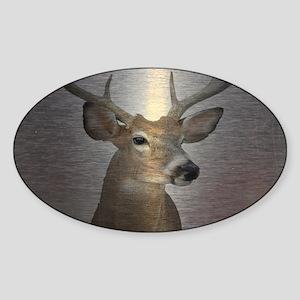 grunge texture western deer Sticker