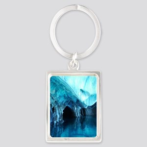 MARBLE CAVES 3 Portrait Keychain