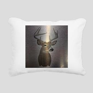 grunge texture western d Rectangular Canvas Pillow