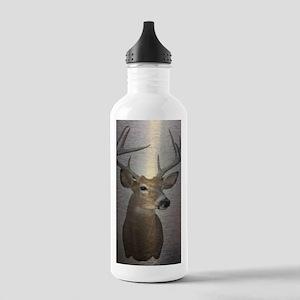grunge texture western Stainless Water Bottle 1.0L