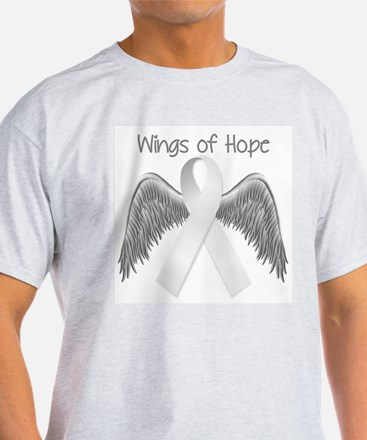 Wings of Hope Silver T-Shirt