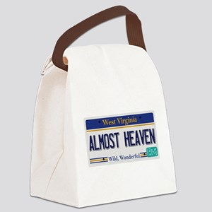 West Virginia - Almost Heaven Canvas Lunch Bag