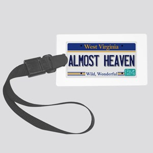West Virginia - Almost Heaven Large Luggage Tag