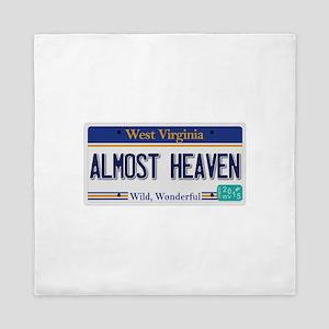 West Virginia - Almost Heaven Queen Duvet