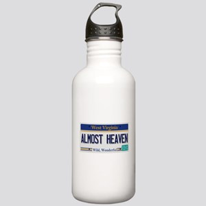 West Virginia - Almost Stainless Water Bottle 1.0L