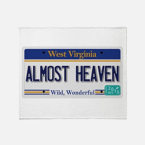 West Virginia - Almost Heaven Throw Blanket