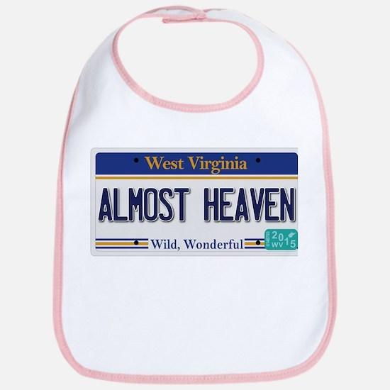 West Virginia - Almost Heaven Bib