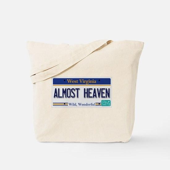 West Virginia - Almost Heaven Tote Bag