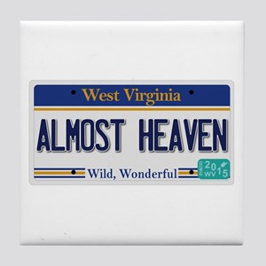 West Virginia - Almost Heaven Tile Coaster