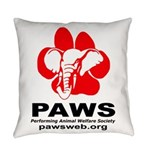 Paws Logo - Everyday Pillow