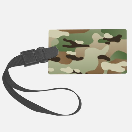 U.S. Army New Camouflage Pattern Luggage Tag