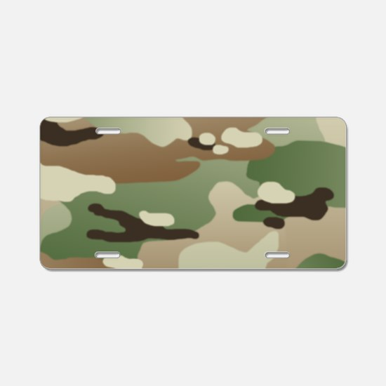 U.S. Army New Camouflage Pa Aluminum License Plate