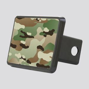 Woodland Camouflage Patter Rectangular Hitch Cover
