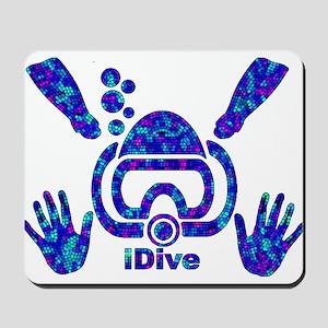 IDIVE 2010 MOSAIC PASTEL Mousepad