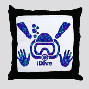 IDIVE 2010 MOSAIC PASTEL Throw Pillow