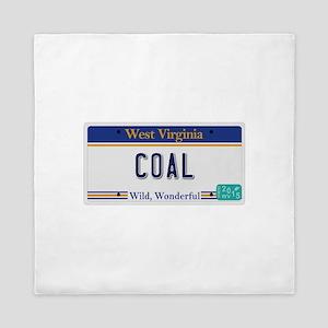 West Virginia - Coal Queen Duvet