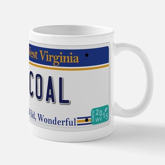 West Virginia - Coal Mug