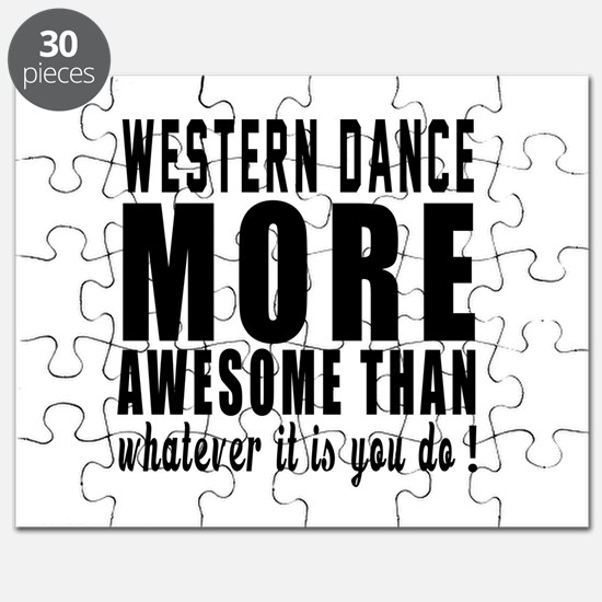 Western more awesome designs Puzzle