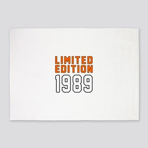 Limited Edition 1989 5'x7'Area Rug
