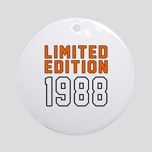 Limited Edition 1988 Round Ornament