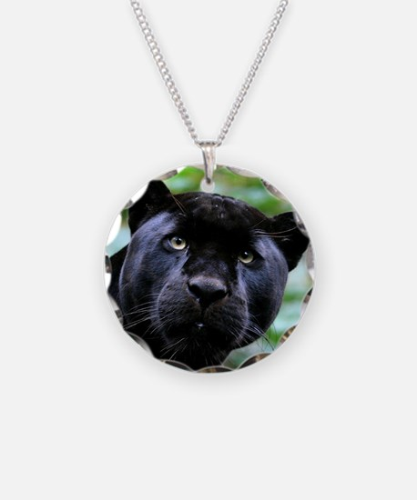 Black Panther Cat Necklace