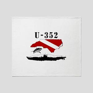 U-352 Throw Blanket