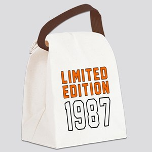 Limited Edition 1987 Canvas Lunch Bag