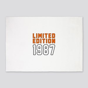 Limited Edition 1987 5'x7'Area Rug