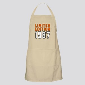 Limited Edition 1987 Apron