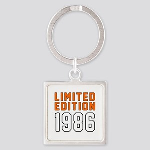 Limited Edition 1986 Square Keychain