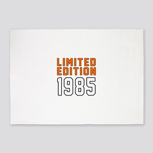 Limited Edition 1985 5'x7'Area Rug
