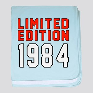 Limited Edition 1984 baby blanket