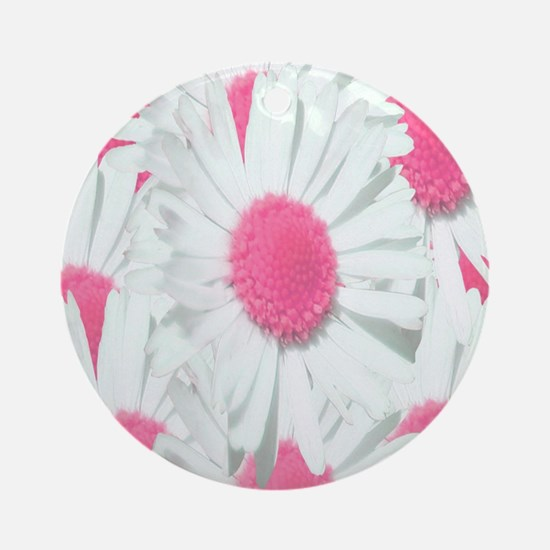 Cute Pink Round Ornament