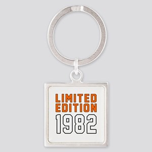 Limited Edition 1982 Square Keychain