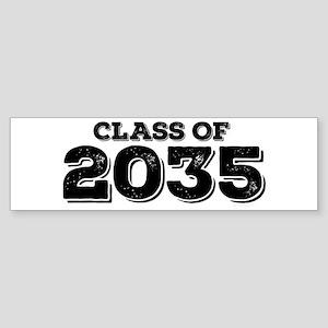 Class of 2035 Sticker (Bumper)