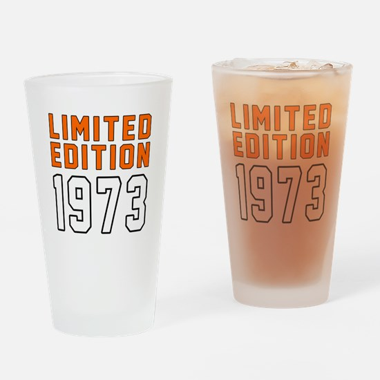Limited Edition 1973 Drinking Glass