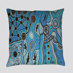 Tribal Lands Everyday Pillow